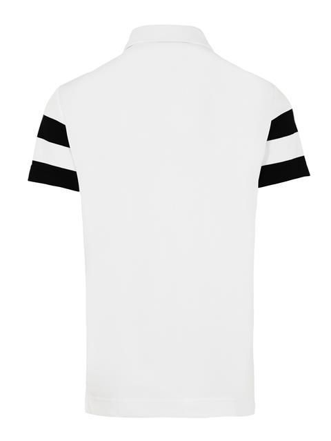 Mens Malte Club Pique Polo White