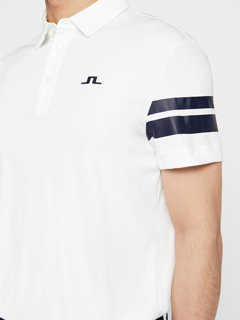 Mens Loui TX Jersey Polo White