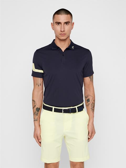 Mens Heath TX Jersey Polo JL Navy