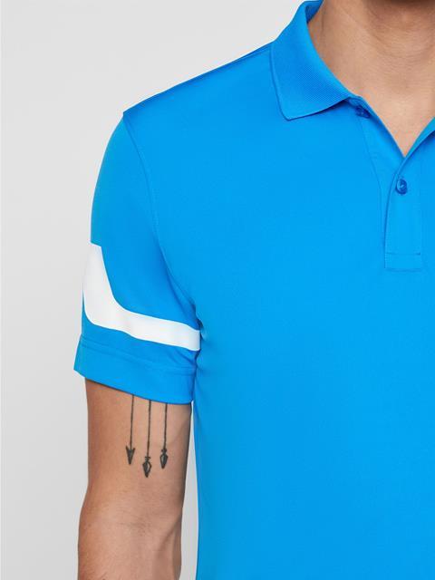 Mens Heath TX Jersey Polo True Blue