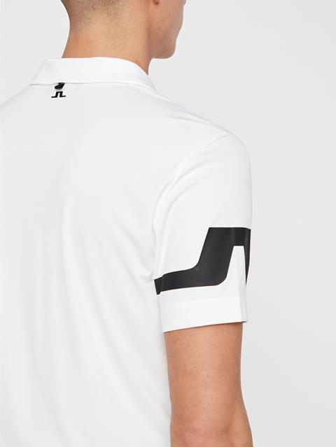 Mens Heath TX Jersey Polo White