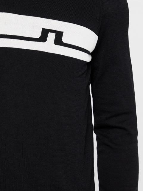 Mens Milo Cotton Sweater Black