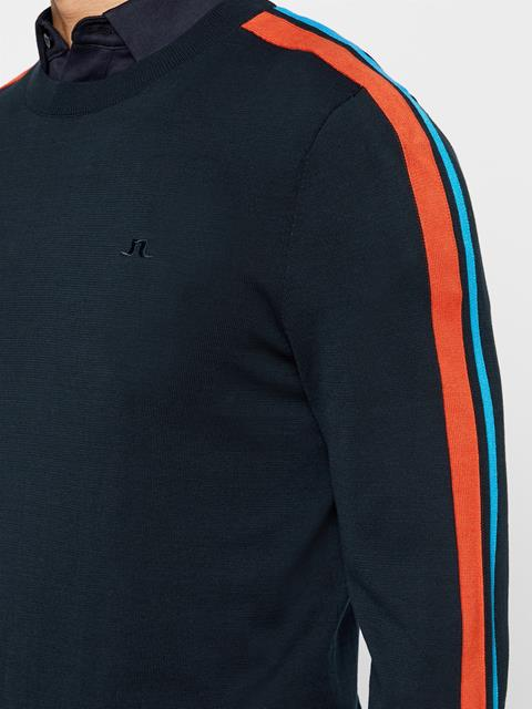 Mens Kevin Cotton Sweater JL Navy