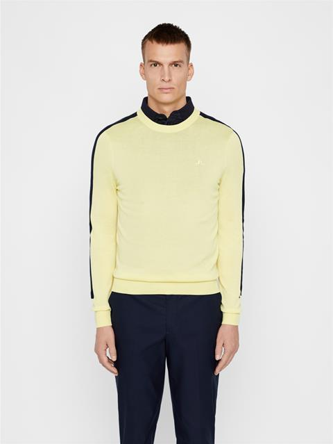 Mens Kevin Cotton Sweater Still Yellow