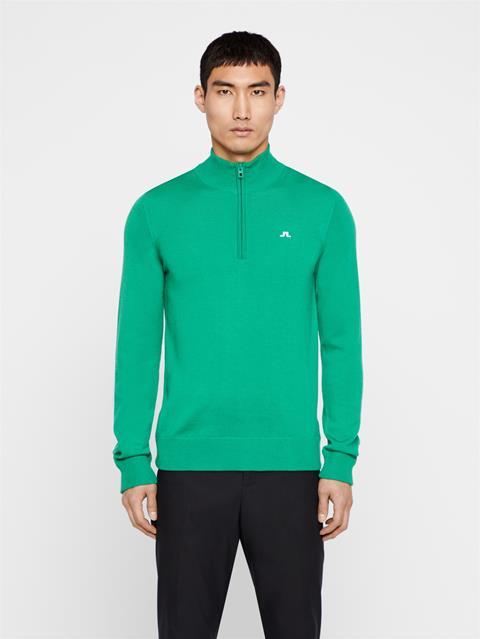 Mens Kian Tour Merino Sweater Stan Green