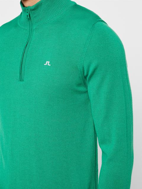Mens Kian Tour Merino Sweater Stan Green