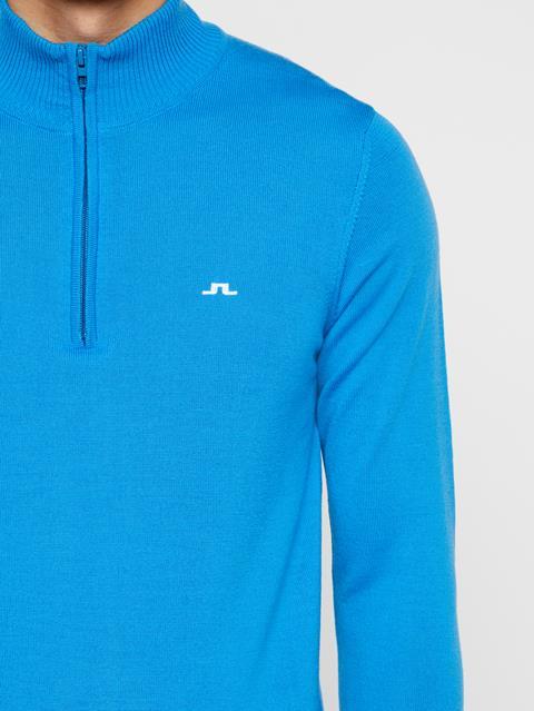 Mens Kian Tour Merino Sweater True Blue