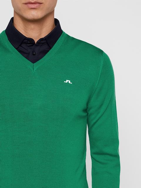 Mens Lymann Tour Merino Sweater Stan Green