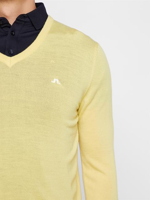 Mens Lymann Tour Merino Sweater Still Yellow