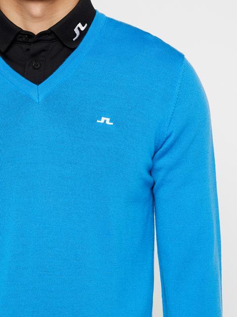 Mens Lymann Tour Merino Sweater True Blue