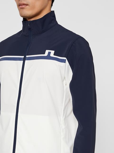 Mens Logo Softshell Jacket White