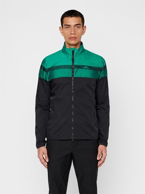 Mens Felix Woven Jacquard Jacket Black