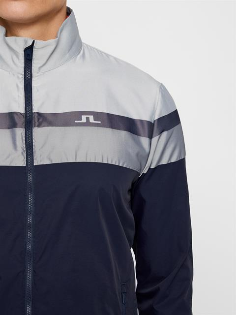 Mens Felix Woven Jacquard Jacket White