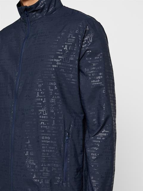 Mens Felix Wind Tech Jacket JL Navy