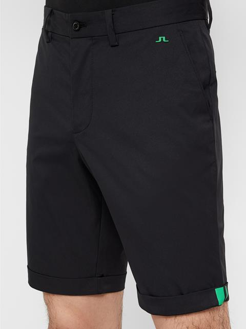 Mens Eddy Light Twill Shorts Black
