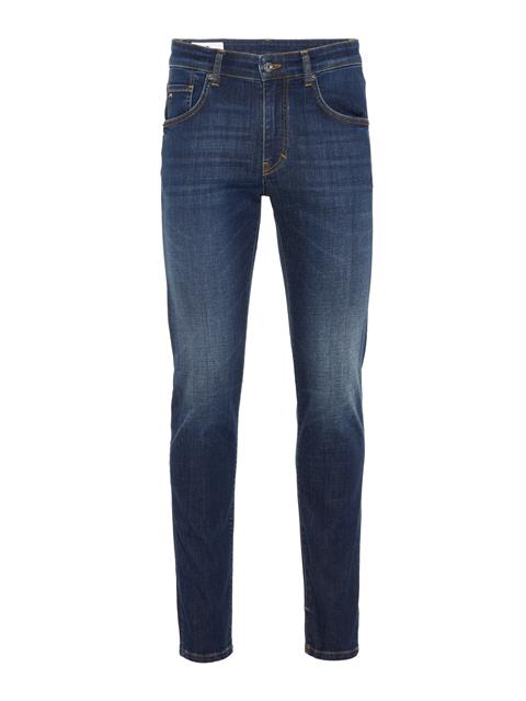 Mens Jay Fleet Jeans Mid Blue