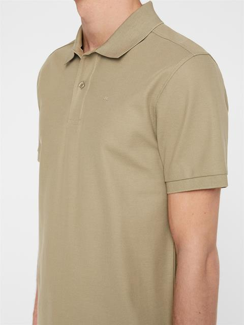 Mens Troy Pique Polo Covert Green
