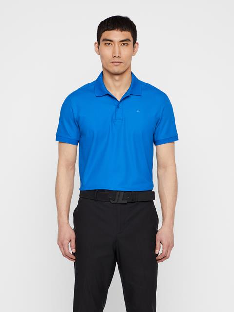 Mens Troy Pique Polo Yale Blue