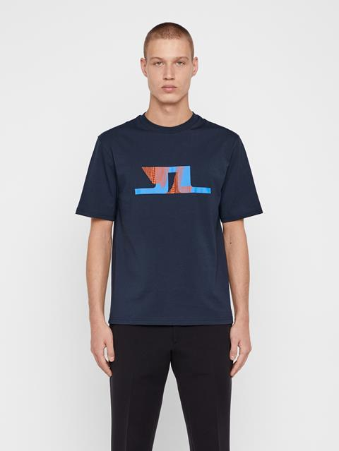 Mens Dale Distinct T-Shirt JL Navy