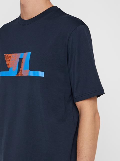 Mens Dale Distinct T-Shirt JL Navy