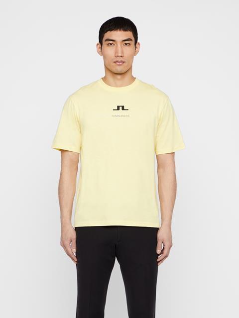 Mens Dale Distinct T-Shirt Still Yellow