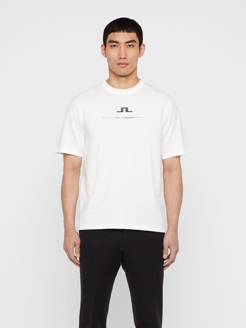 Mens Dale Distinct T-Shirt White