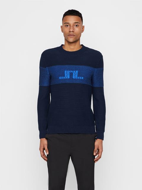 Mens Thorn Summer Sweater JL Navy
