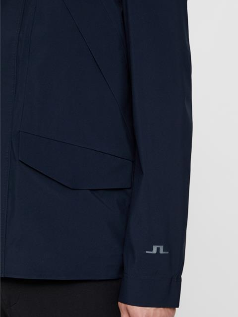 Mens Ted Mechanical Stretch Jacket JL Navy