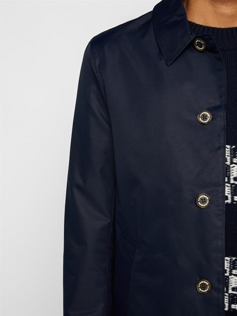 Mens Carter Car Coat JL Navy
