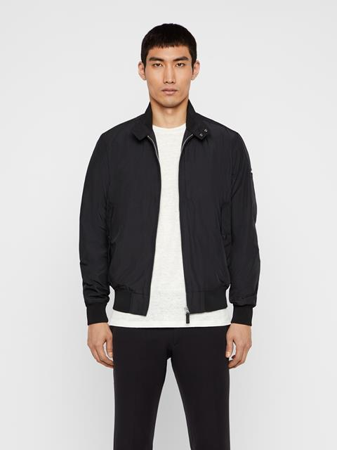 Mens Devin Canvas Jacket Black