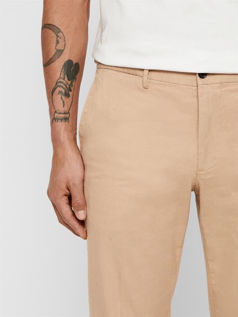 Mens Grant Cotton Linen Pants Sheppard