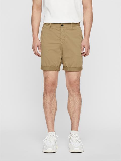 Mens Nathan Super Satin Shorts Covert Green