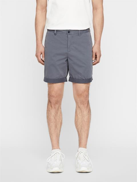 Mens Nathan Super Satin Shorts Dark Grey