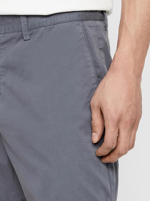 Mens Nathan Super Satin Shorts Dark Grey