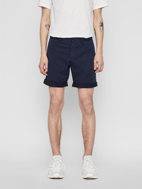 Mens Nathan Super Satin Shorts JL Navy