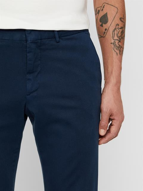 Mens Grant Twill Pants JL Navy