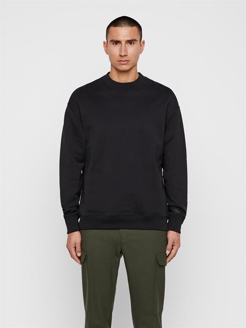 Mens Hector JLJL Sweatshirt Black