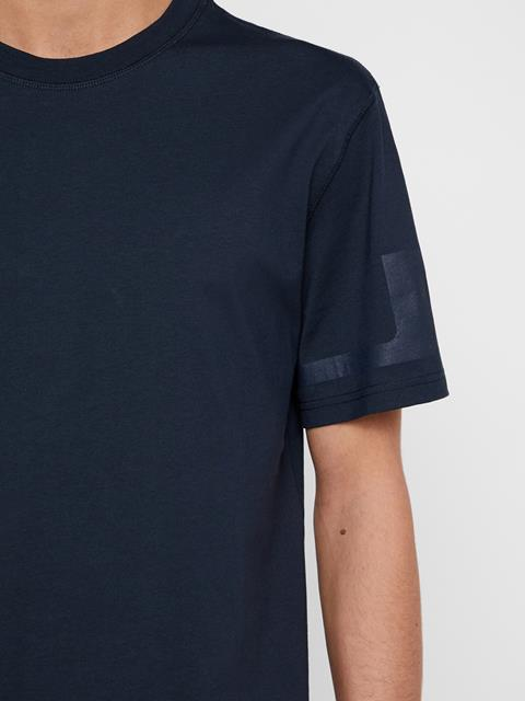 Mens Jordan Distinct Cotton T-Shirt JL Navy