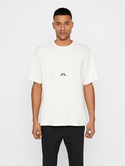 Mens Gabriel JLJL T-Shirt Cloud Dancer