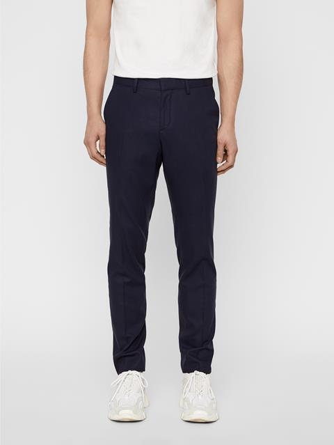Mens Paulie Natural Comfort Pants JL Navy