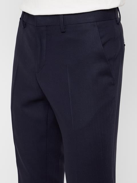 Mens Paulie Natural Comfort Pants JL Navy
