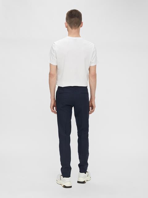Mens Grant Tech Linen Pants JL Navy