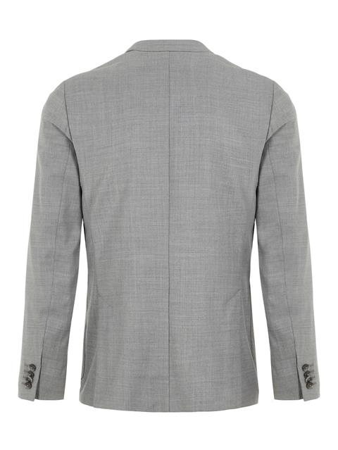 Mens Hopper Tech Travel Blazer Stone Grey