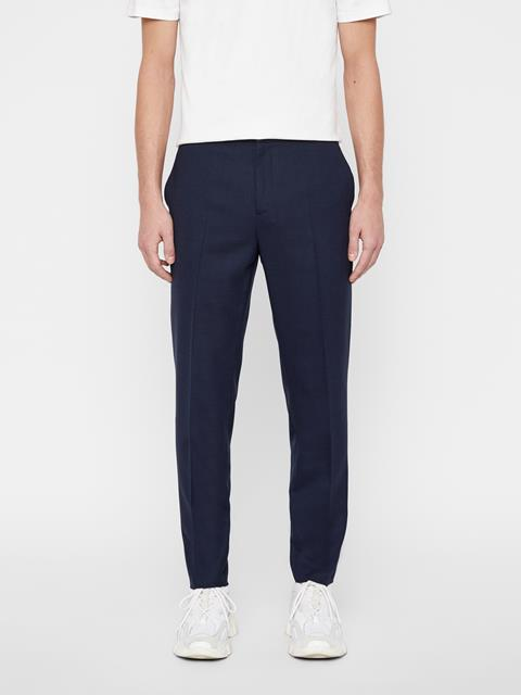 Mens Sasha Tech Travel Pants JL Navy