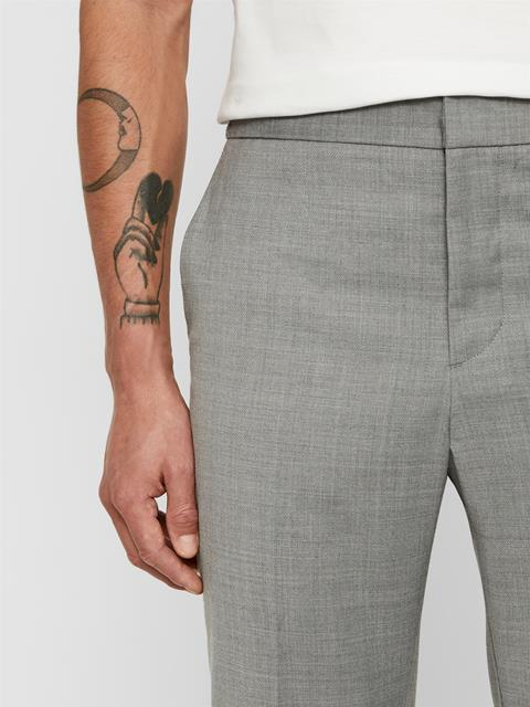 Mens Sasha Tech Travel Pants Stone Grey