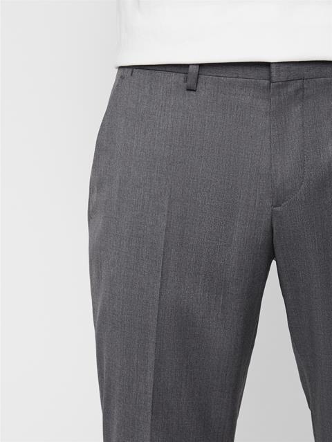 Mens Paulie Legend Wool Pants Stone Grey