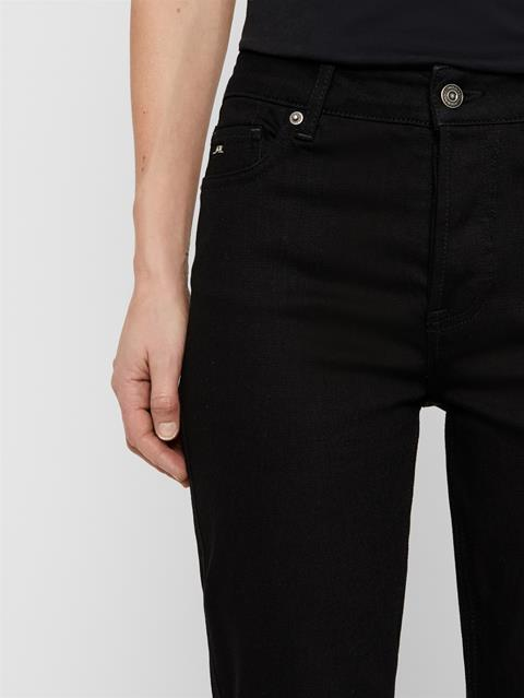 Womens Study Stretch Jeans Black