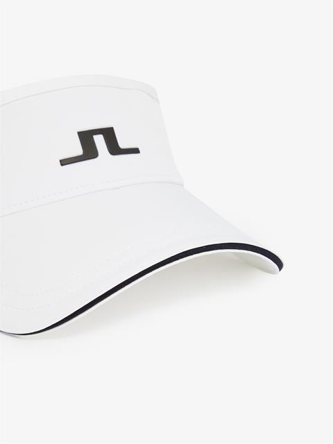 Womens Yada Tech Stretch Visor White