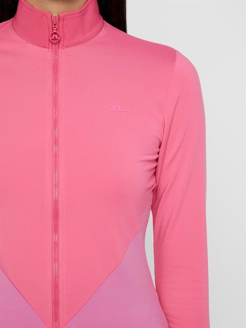 Womens Liza Light Midlayer Pop Pink