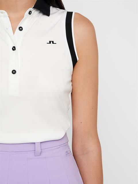 Womens Lyla TX Coolmax Polo White